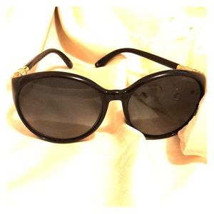 Black JIMMY CHOO glamorous women's sunglasses